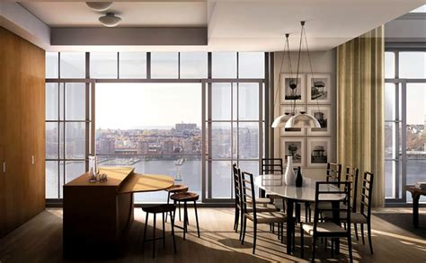 Modern Kitchen Interior Design Of 200 Eleventh Avenue Interior Design Nyc Apartment