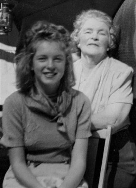 marilyn monroe s mother marilyn monroe s timeline photos vintage everyday