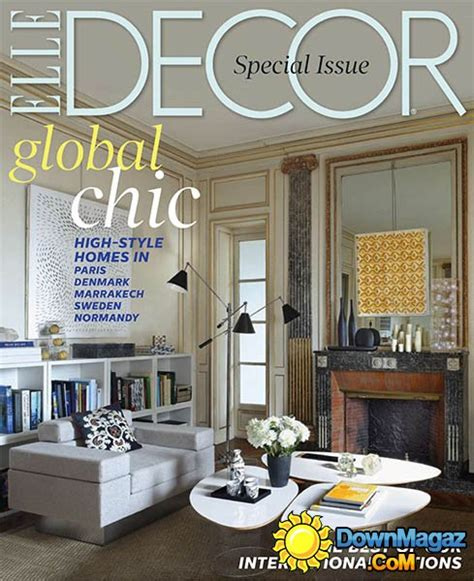 home decor magazines usa elle decor usa january february 2014 187 download pdf