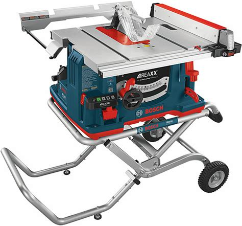 bosch bench saw bosch reaxx table saw review part 1 first impression