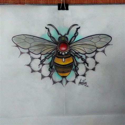 traditional bee tattoo best 25 neo traditional ideas on