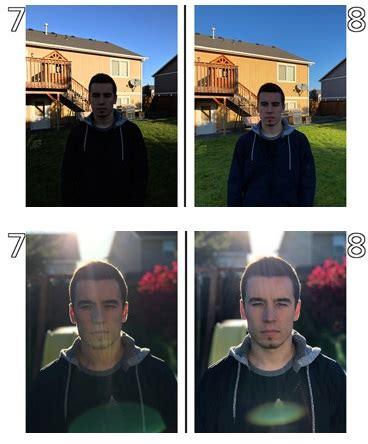 iphone    iphone   la difference de qualite de leur double capteur photo saute aux
