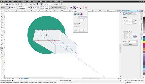 cara membuat gambar 3d di coreldraw x6 cara membuat objek transparan di corel draw x5 cara
