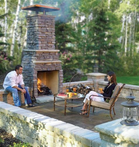 25 best ideas about backyard fireplace on