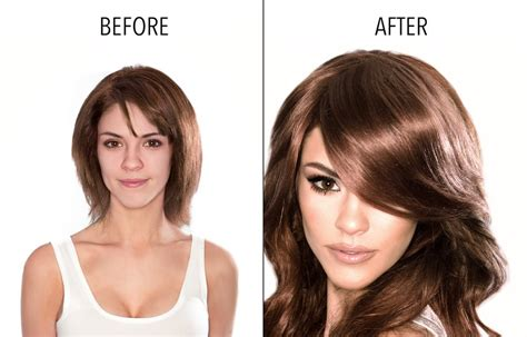 side swept bangs before after side swept bangs chestnut brown 6 by clip in hair