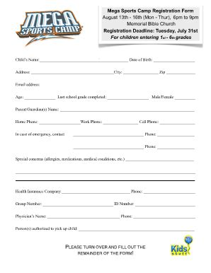 sports registration form template 26 images of sport registration template infovia net
