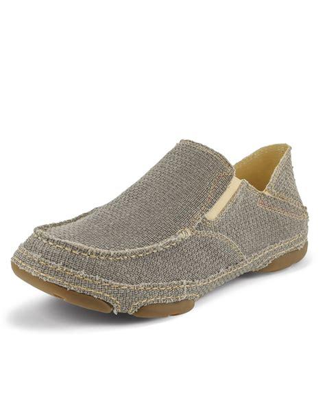 tony lama 174 s canvas deck shoes fort brands