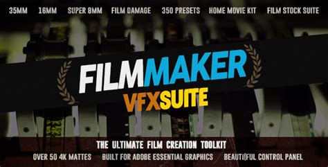 vfx templates after effects free download the filmmaker vfx suite free after effects templates