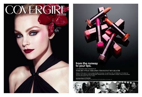 Makeup Covergirl covergirl runway shades by pat mcgrath 2011 ad caign