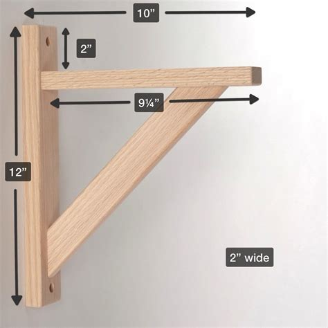 straight  wood shelf bracket diy wood shelves wooden