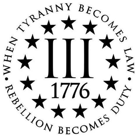 three percenter tattoo the three percent in 1775 during the american revolution