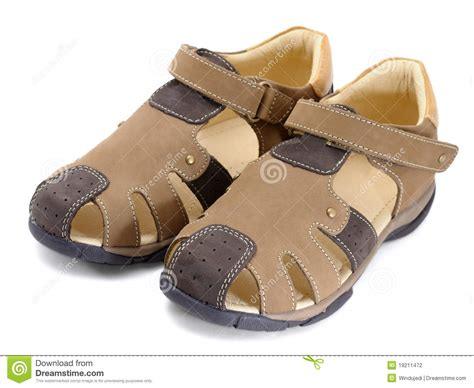 A Pair Of Childrens children s pair of shoes stock photography image 19211472