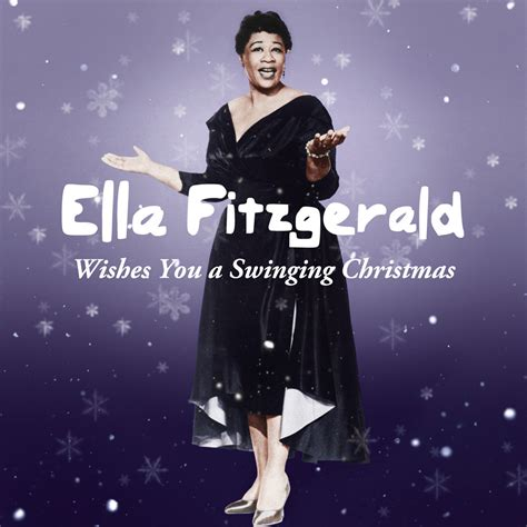ella wishes you a swinging christmas ella fitzgerald music fanart fanart tv