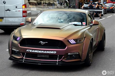 widebody mustang ford mustang gt 2015 deranged widebody supercharged 19
