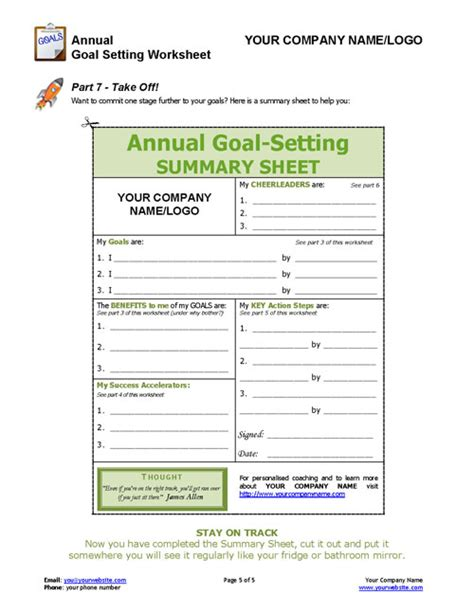 8 goal setting freeware options for helping you meet all pictures career goal setting worksheet roostanama