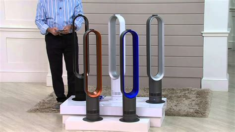 dyson fan am07 sale dyson am07 air multiplier bladeless oscillating fan on qvc