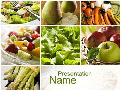 Vegetarian Presentation Template Vegetarian Presentation Template For Powerpoint And Keynote Ppt Star
