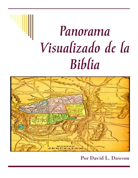 Panorama Visualizado De La Biblia | panorama visualizado de la b 237 blia car 225 tula