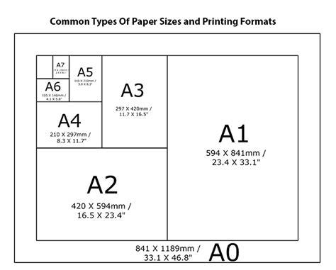 officeworks printing sizes