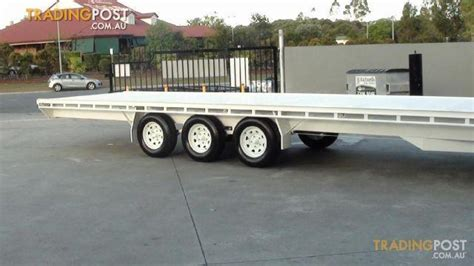 boat trailers yatala mcneilltrailers 9m by 2 3 tri axle trailer for sale in