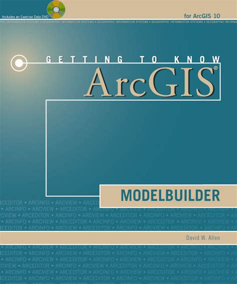 arcgis tutorial book getting to know arcgis modelbuilder gis lounge