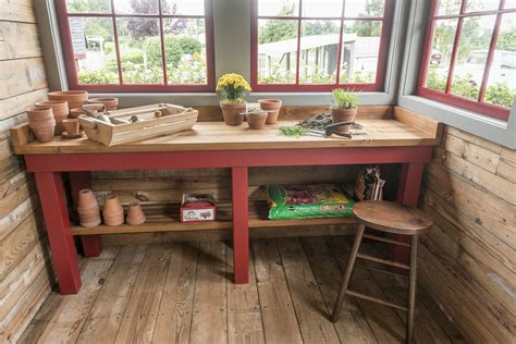 fancy  english potting shed teracottage