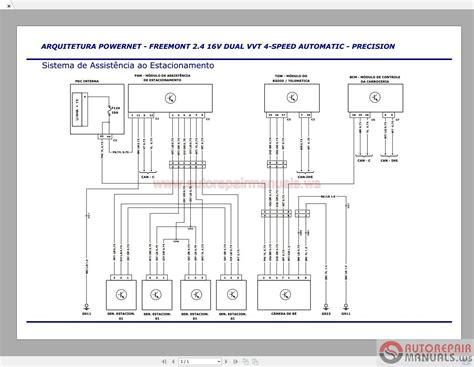fiat freemont  full service manual auto repair