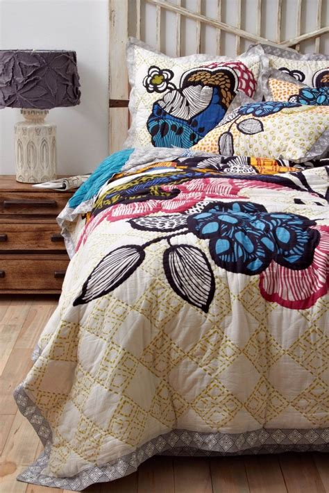 anthropology bed anthropologie bedding uc davis living pinterest