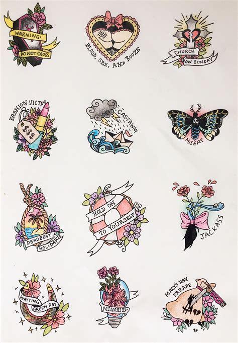 tattoo flash day london tattoo flash for the album warning greenday