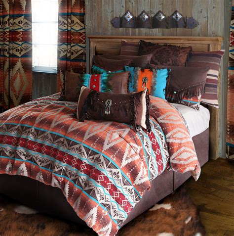 Western Quilt Bedding Sets Mojave Sunset Tuscan Rustic Western Comforter Bedding Set Bed In A Bag Ebay