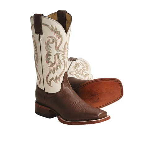 womens square toe boots nocona goat leather cowboy boots for 3570c save 31