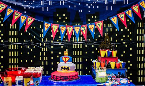 Kitchen Decorating Idea by Trace S 4 Year Old Superhero Birthday Party Simonemadeit