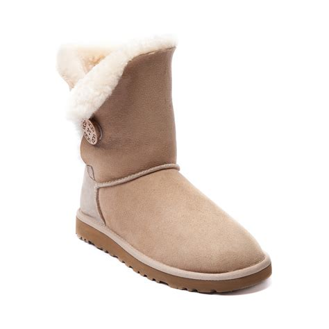 womens ugg 174 bailey button boot sand journeys shoes