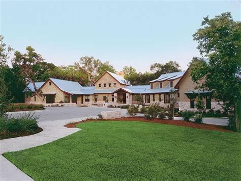 south texas house plans sprawling texas ranch style home