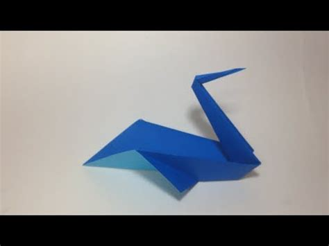 Origami Pelican - how to make an origami pelican