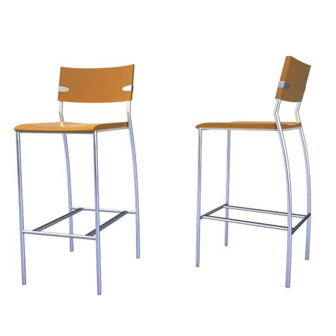 bar stool collection 3d model max 3ds
