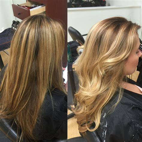 color highlights for ash base redlands hair stylist color correction stripe blonde foil
