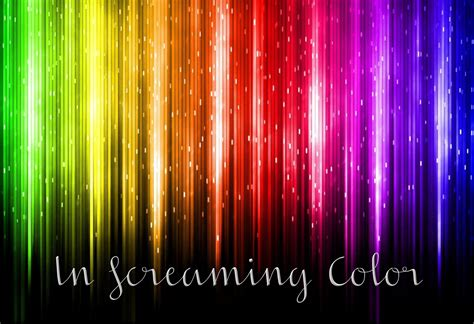 screaming color pink and paper font friday in screaming color