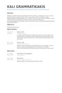Assistant Pastry Chef Sle Resume by Pastry Chef Resume Sles Visualcv Resume Sles Database