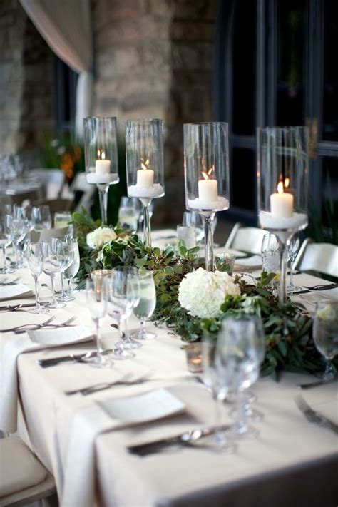 elagant christmas table tops in white theme 40 table decoration ideas