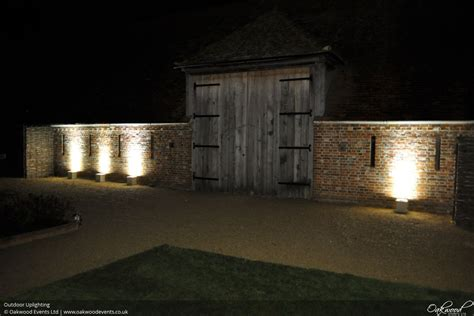 outdoor lighting outdoor lighting hire oakwood events
