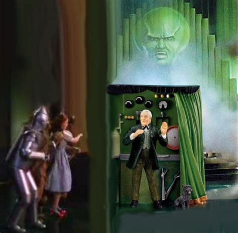 the man behind the curtain wizard of oz douglas whaley why hillary will stomp donald in november