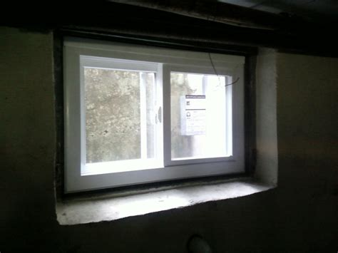 install basement window top basement window installation near union nj m m construction morristown nj roofing