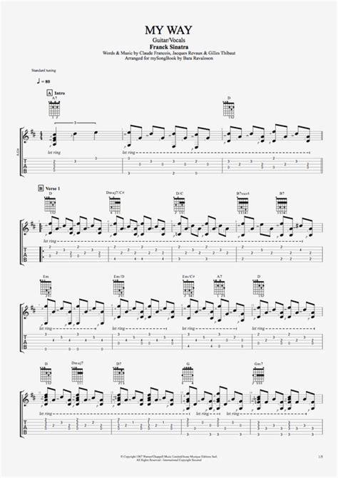Frank Sinatra Guitar Chords