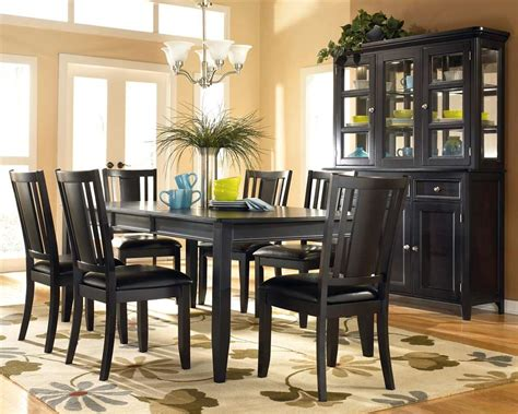 Black Dining Room Furniture Black Dining Room Chairs Decorating Ideas