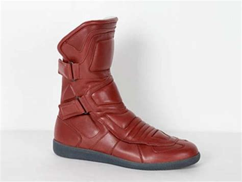 motorcycle boots that look like shoes biker chic sneakers maison martin margiela s fall 09
