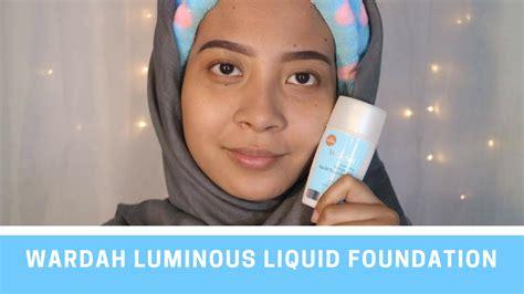 Harga Wardah Exclusive Liquid Foundation Light Beige wardah everyday luminous liquid foundation 02 light beige