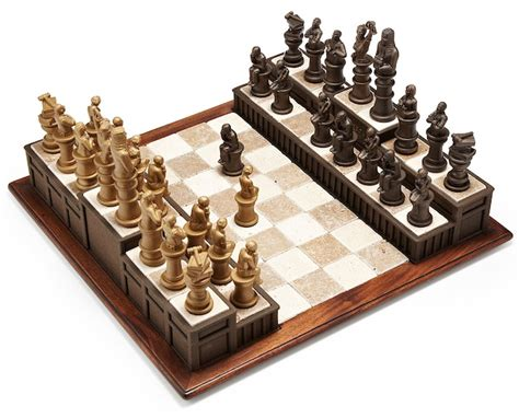 themed chess sets themed chess set craziest gadgets