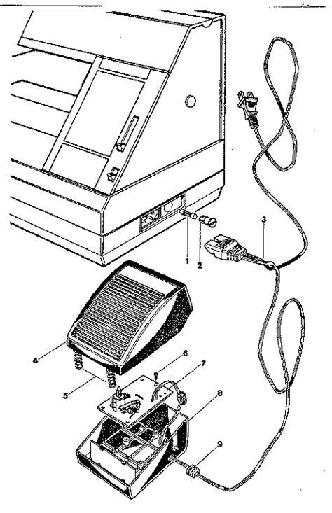 kenmore sewing machine parts diagram foot diagram parts list for model 3401991280