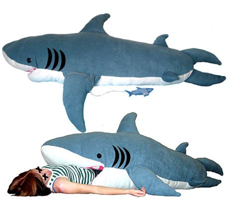 shark pillow sleeping bag 10 horrible gifts for the holidays 2011 edition